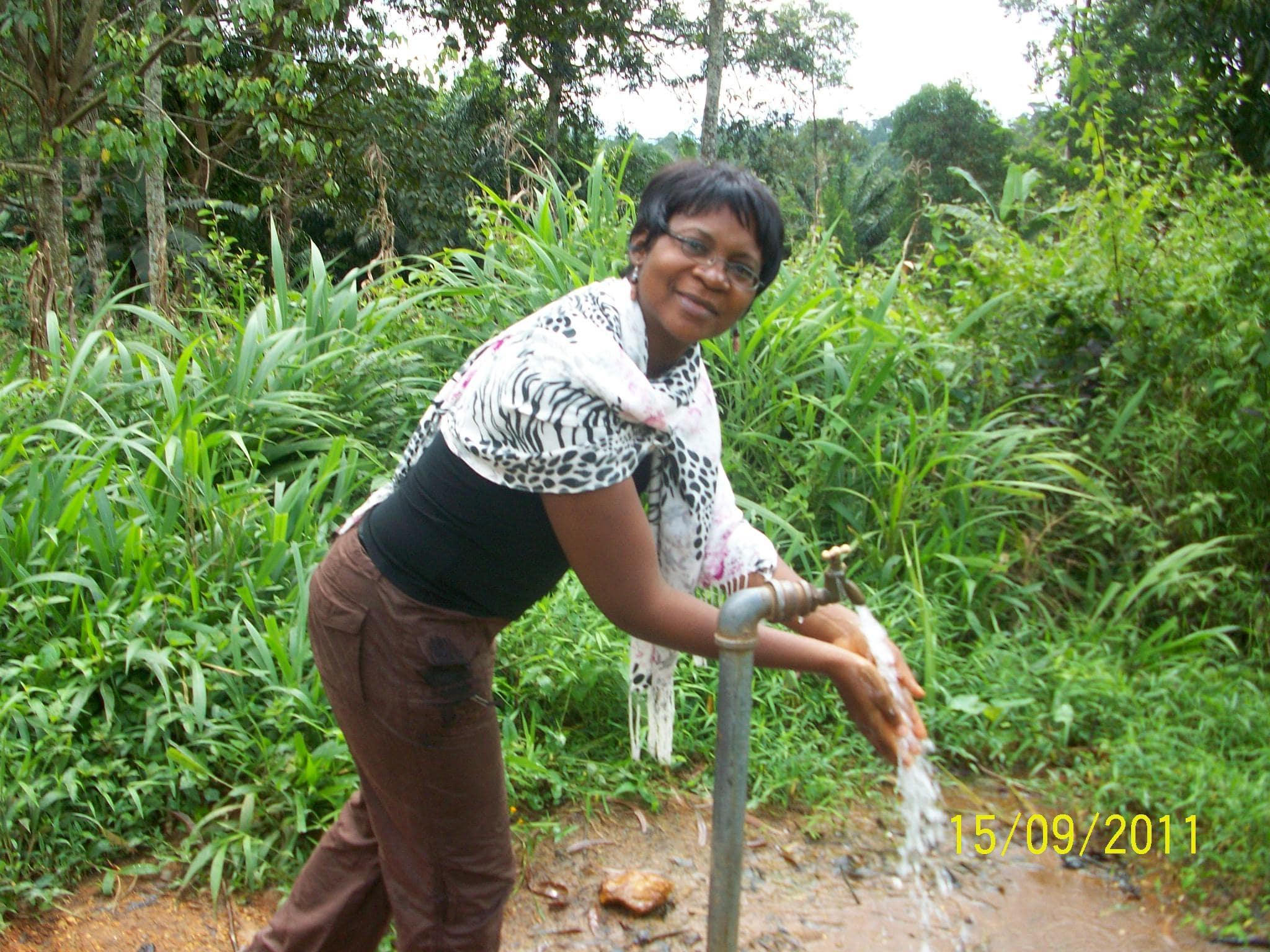 Mme Elisbeth Ehabe, Self Help Office, US Embassy, Yaounde