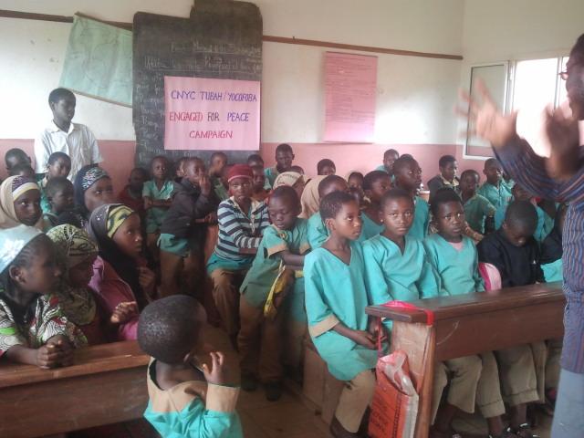 Education and Peace Advocacy - YOCOFOBA Campaign